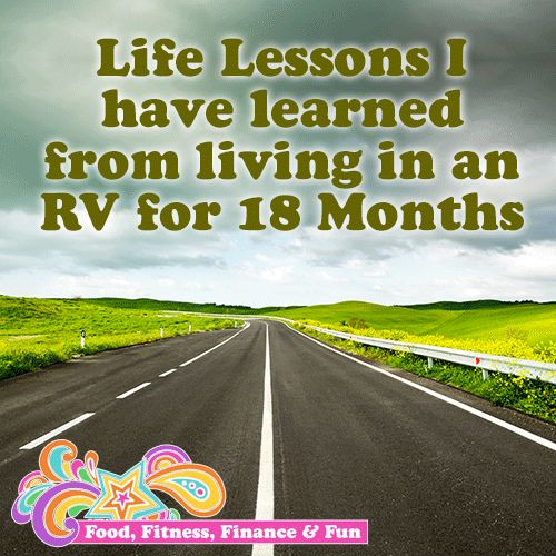 [Blog Post} Life Lessons I have learned from living in an RV for 18 Months