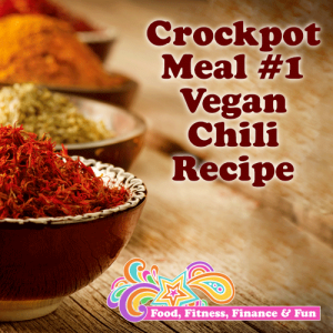 Crockpot Meal #1 - Vegan Chili Recipe