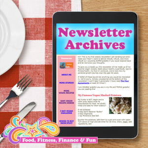 Food, Fitness, Finance and Fun Newsletter Archives