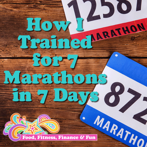 How I Trained For 7 Marathons In 7 Days
