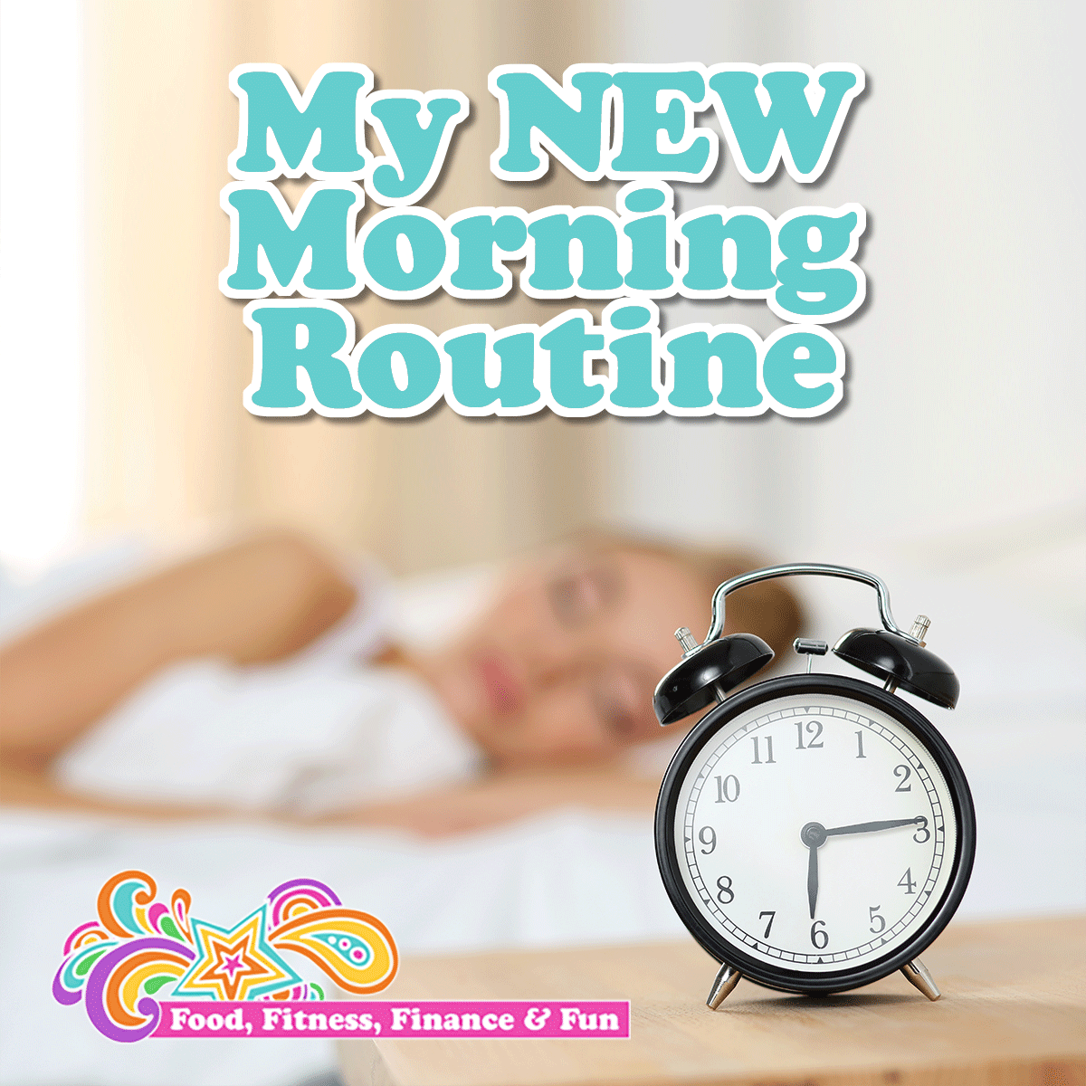 "My New Morning Routine... I have been working on morning routines for years. I want something that gets a lot of ""bang for my buck"" and sets me up for successes all day long without having to wake up TOO early. I have been crafting my current routine for the past 2 months. Fine tuning it to see what is effective AND efficient, and I finally came up with one."