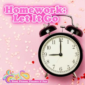 Homework: Let It Go