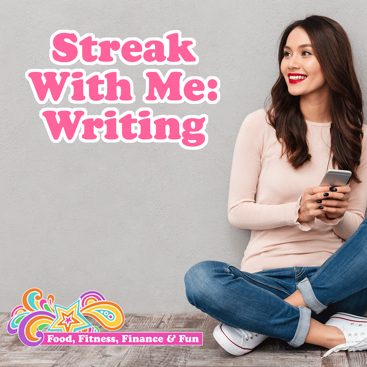 """Streak With Me: Writing ... Every month for the past 3 years I have been doing a """"streak"""". A streak is a daily activity I do for a certain amount of days to move me toward a healthy habit or something I want in my life."""